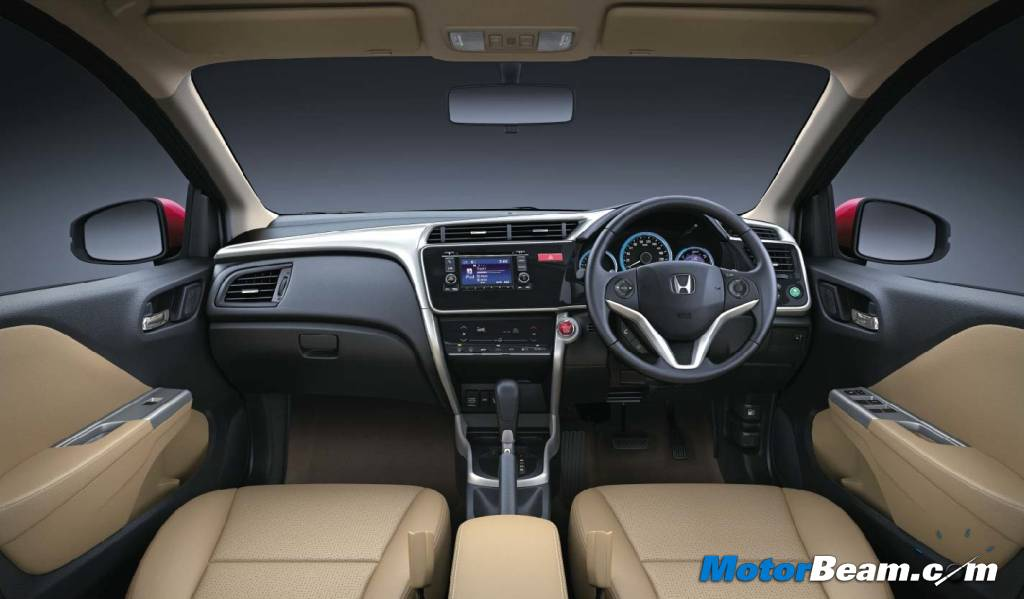 2014 Honda City Interior Studio Shot