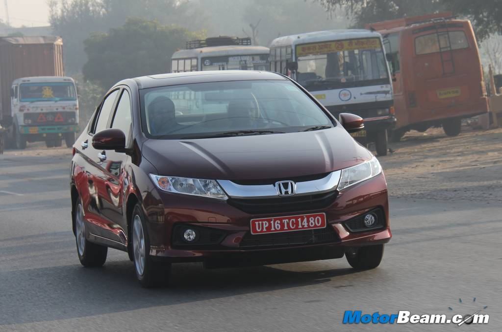 Seriously blog 2014 honda city test drive review report for Motor city road test