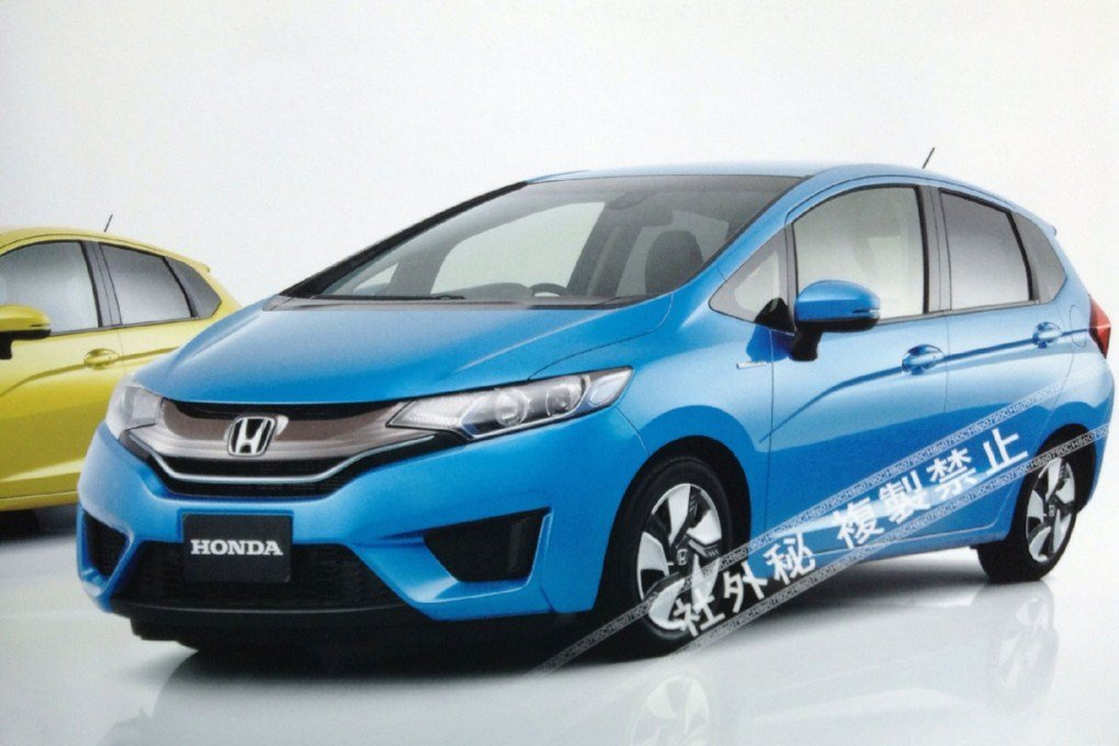 2014 Honda Jazz Facelift Front