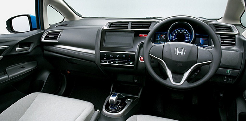 2014 Honda Jazz Hybrid Dashboard