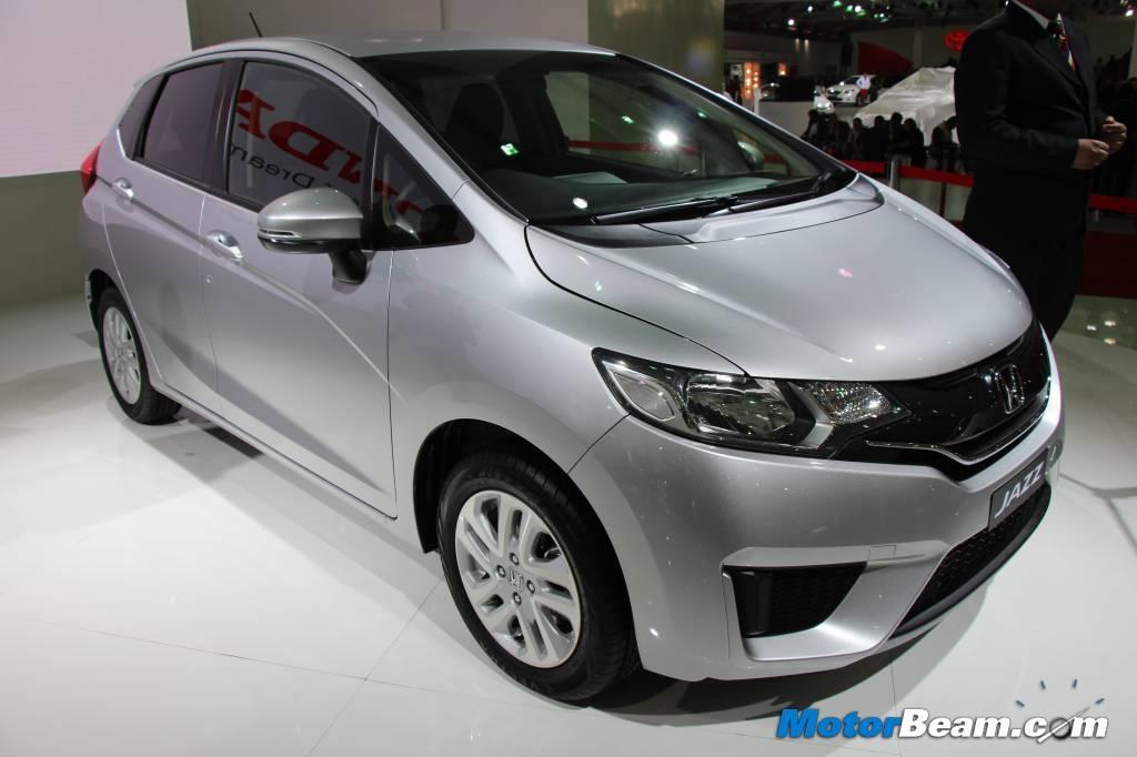 Next Generation Honda Jazz 2014 2014 Honda Jazz India 3