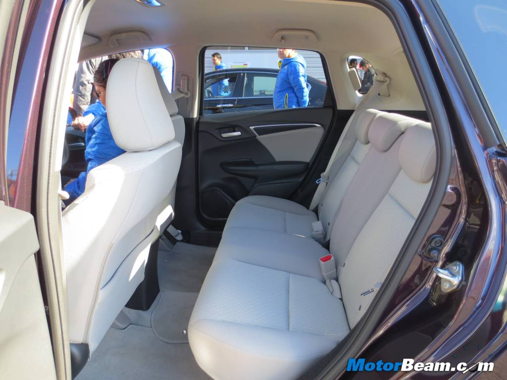 2014 Honda Jazz Rear Seat