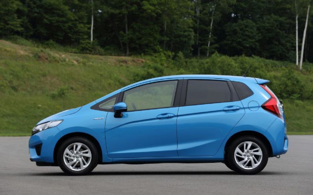 2014 Honda Jazz Side