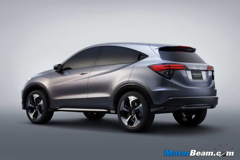 2014 Honda Urban SUV Production Version Rendered