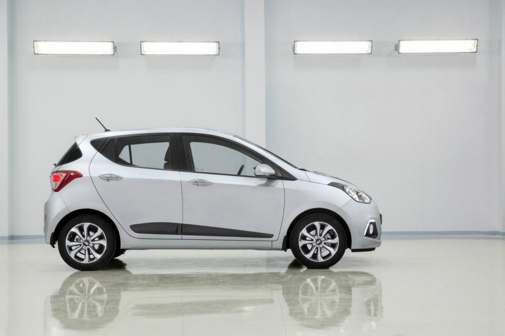 2014 Hyundai i10 Studio Side