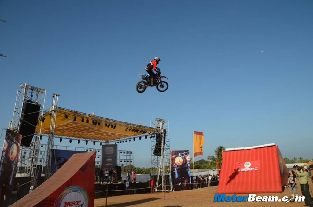Bikes 2015 India Stunts India Bike Week Stunts