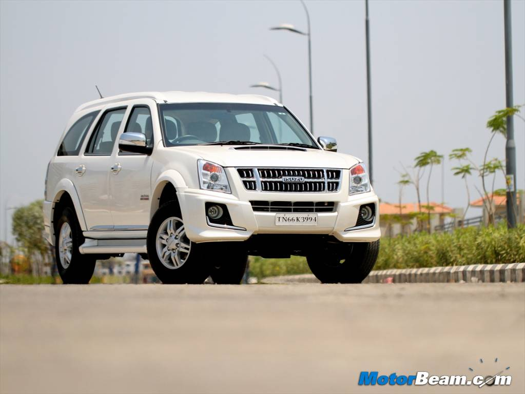 2014 Isuzu MU-7 – Click above for high resolution picture gallery