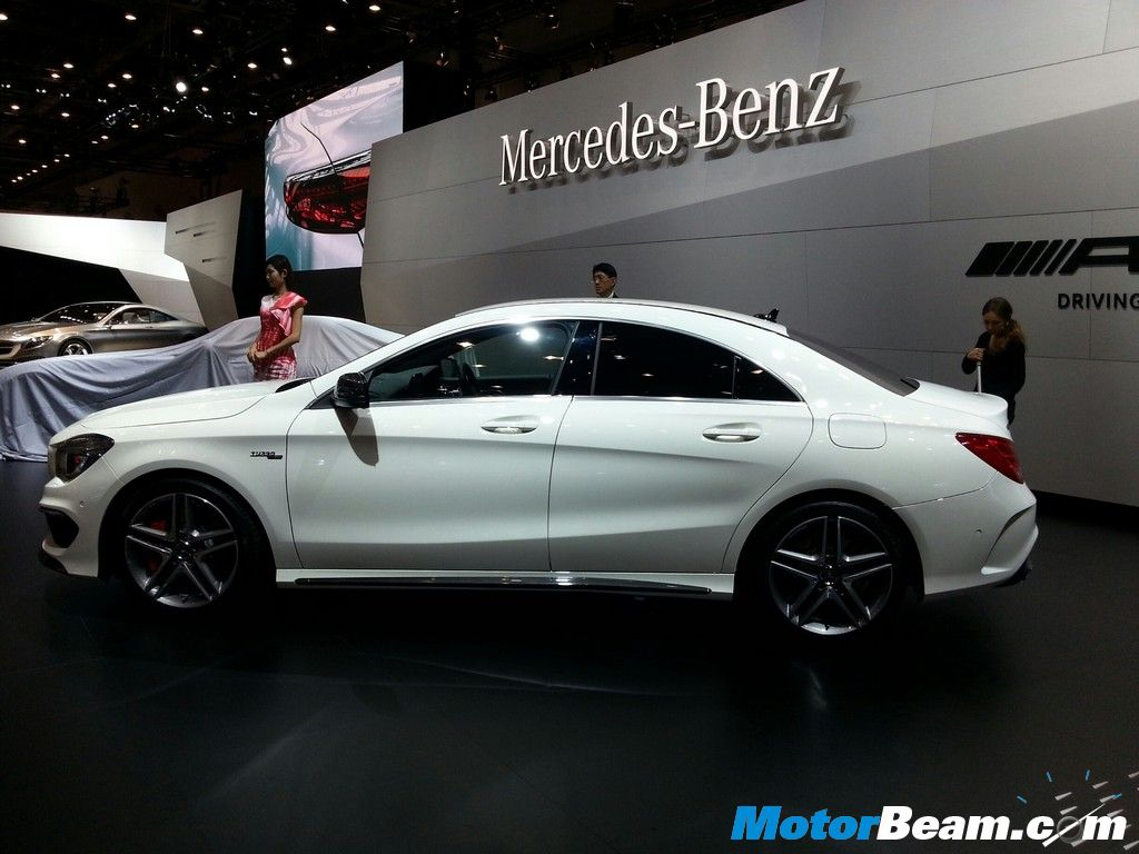 2014 Mercedes Benz CLA 45 AMG Side