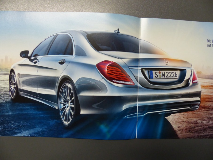 2014 Mercedes-Benz S-Class Brochure Rear