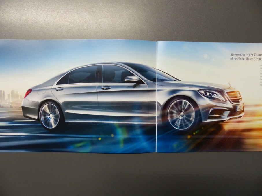 2014 Mercedes-Benz S-Class Brochure Side