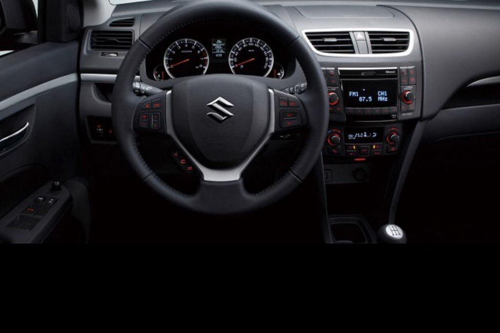 2014 Suzuki Swift Dashboard