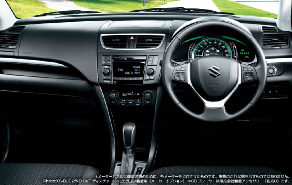 Car Picker  suzuki Swift interior images