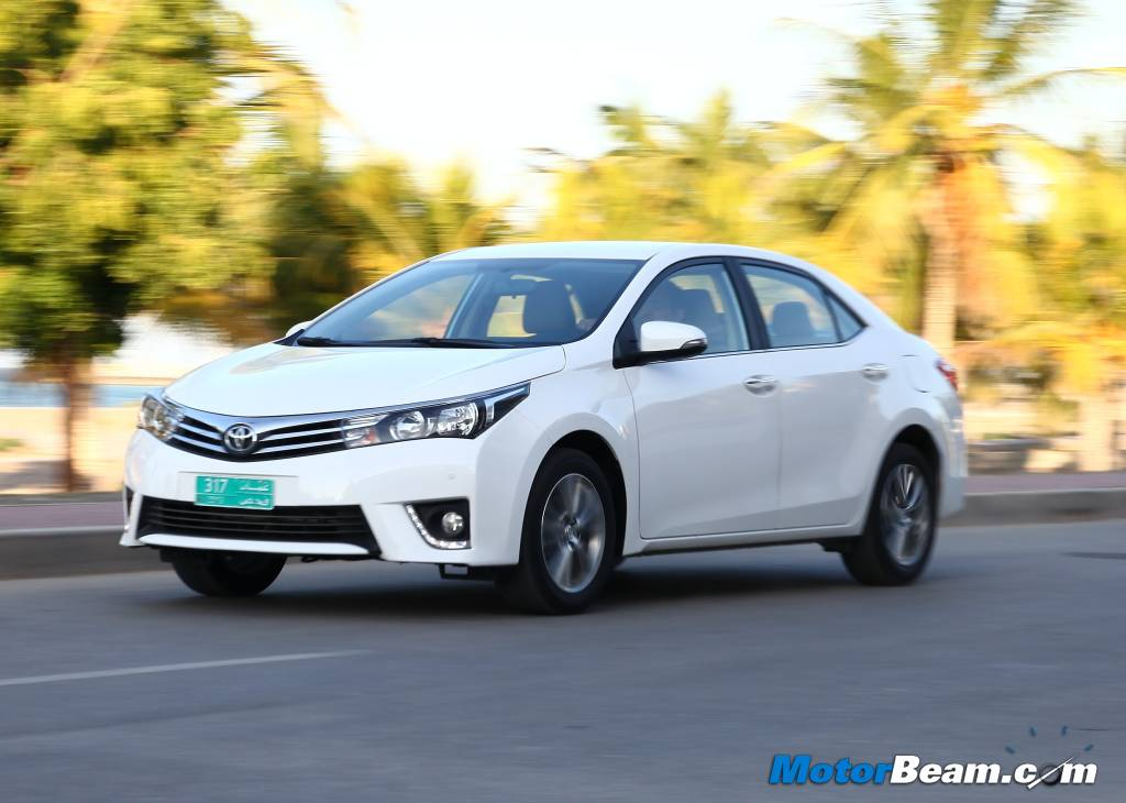 2014 Toyota Corolla India Price
