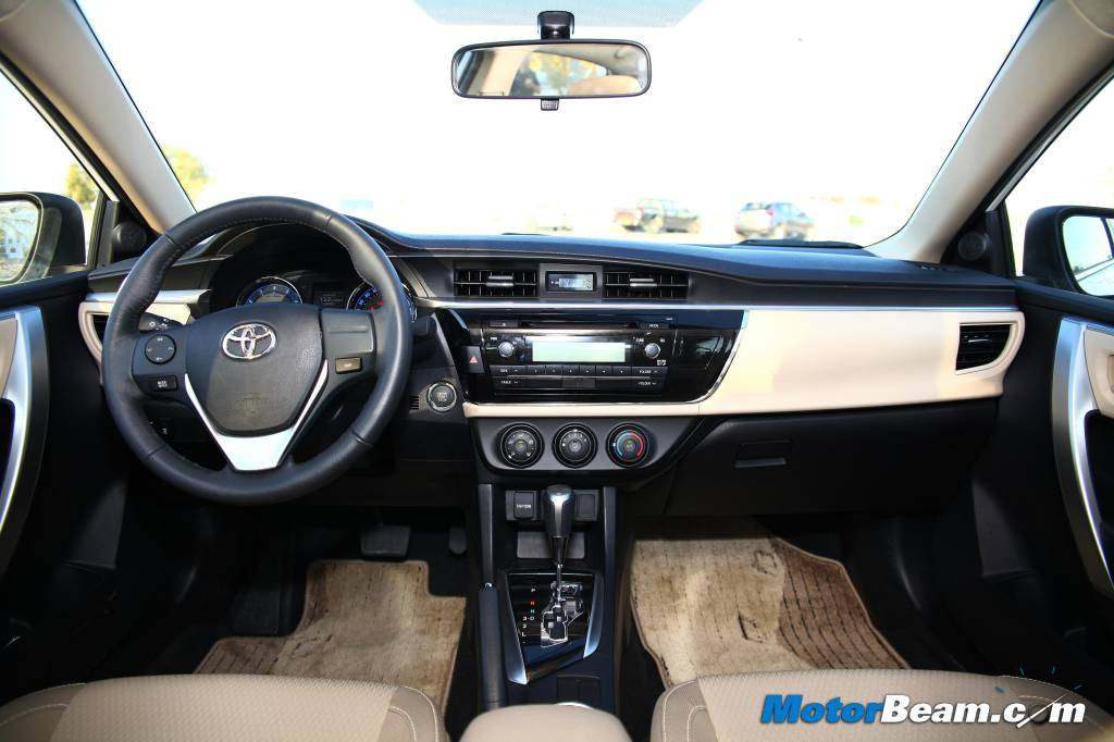 2014 Toyota Corolla Interior Review