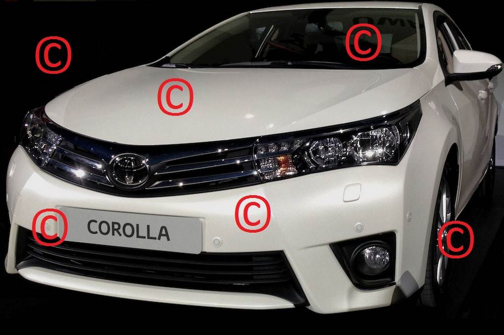New 2014 Toyota Corolla Photos Surface