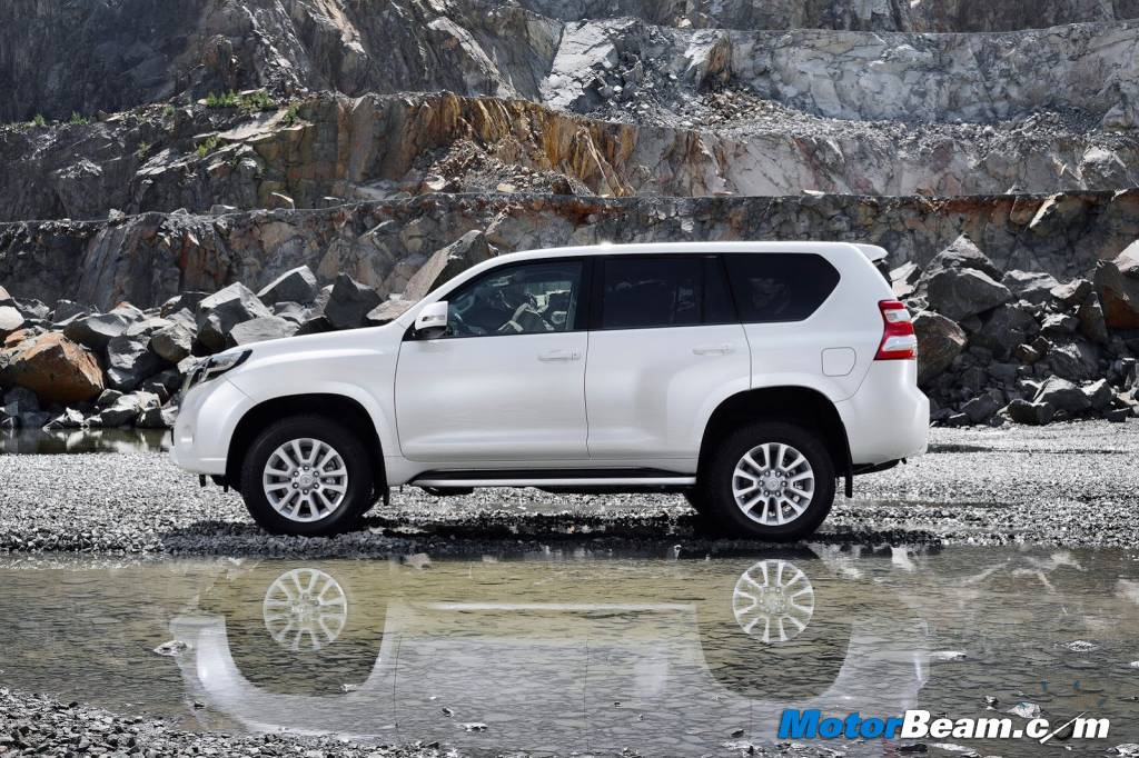 2014 Toyota Land Cruiser Prado India