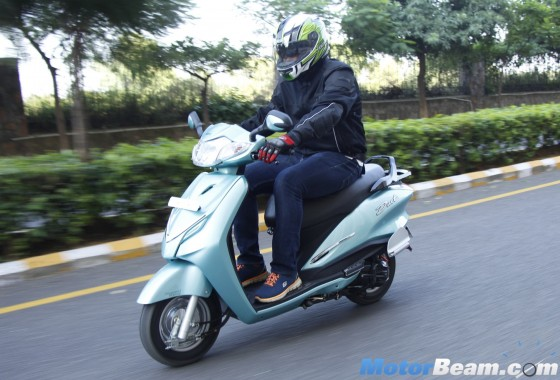 2015 Hero Duet Scooter First Ride Review