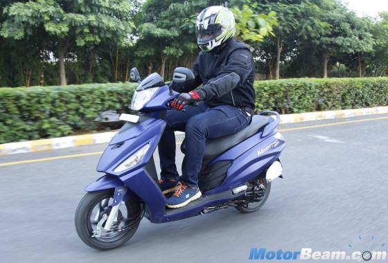 Hero Maestro Edge First Ride Review