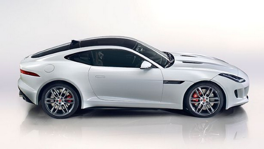 2015 Jaguar F Type Coupe Side