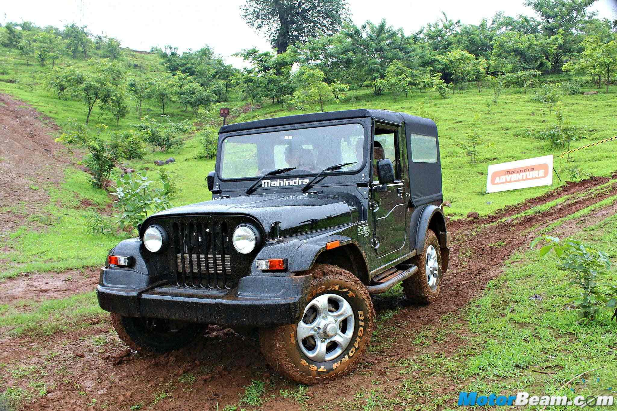 2015 Mahindra Thar Facelift Test Drive Review Businessgyan