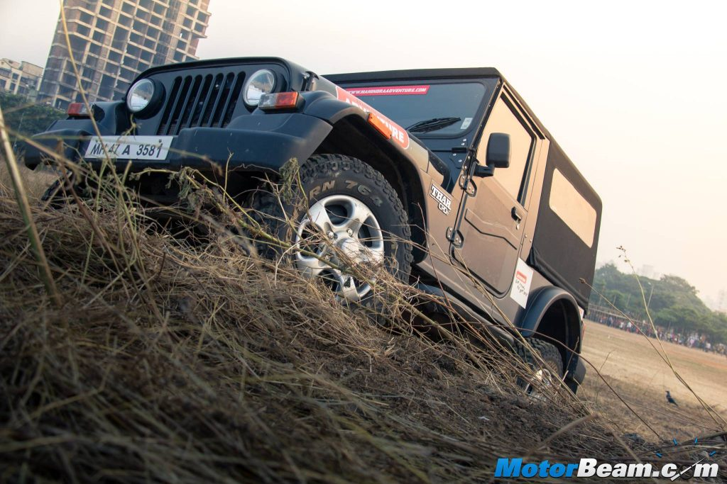 2015 Mahindra Thar CRDe Picture Gallery