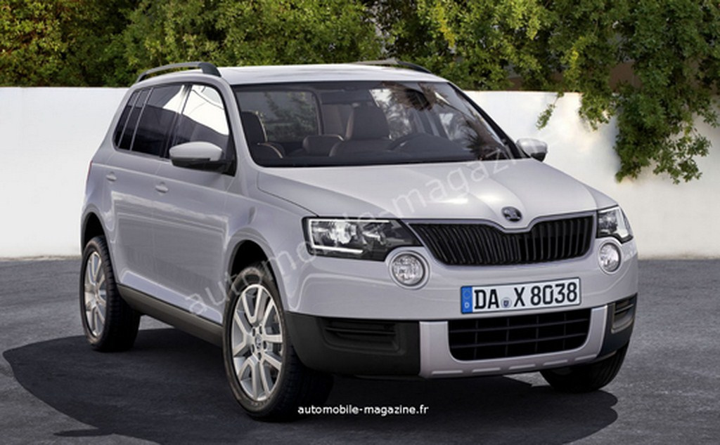 Skoda's Upcoming Compact SUV, Polar