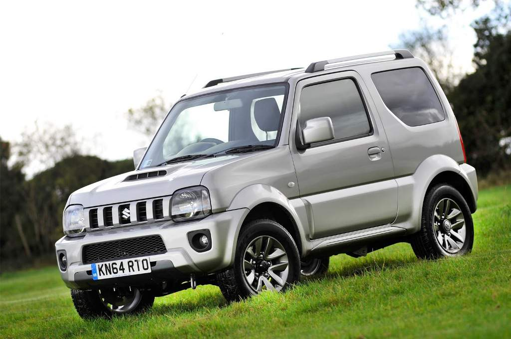 The Suzuki Jimny continues to be on sale 16 years after it was