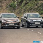2015 Toyota Camry vs Skoda Superb Comparison