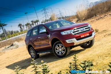 2016 Ford Endeavour Picture Gallery