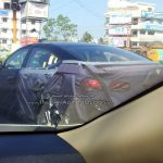 2016 Hyundai Elantra Rear Three Quarter Spied