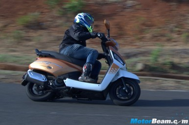 Mahindra Gusto 125 Video Review