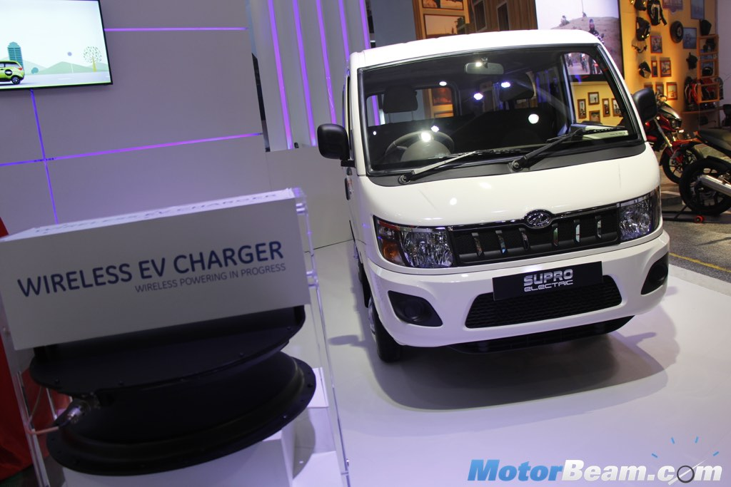 f1c6b4283a00a5 Mahindra Supro Electric Unveiled At 2016 Auto Expo