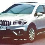 2016 Maruti S-Cross Facelift Front