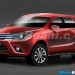 2016 New Generation Toyota Fortuner Rendering