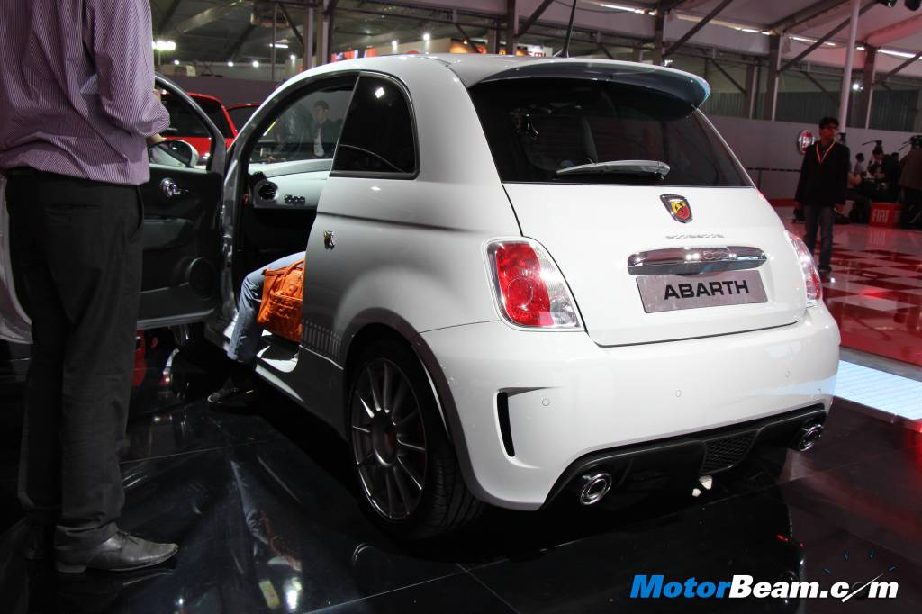 Abarth 500 Unveil