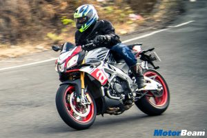 Aprilia Tuono V4 1100 Factory Test Ride Review