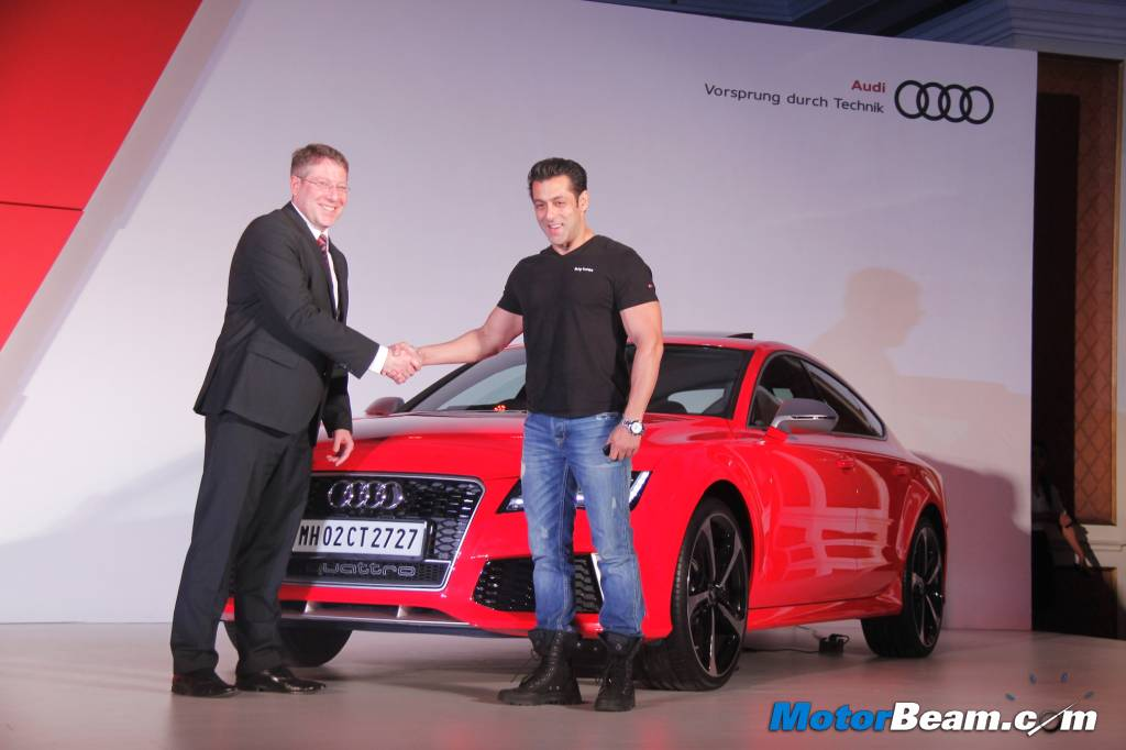 Audi RS7 Salman Khan