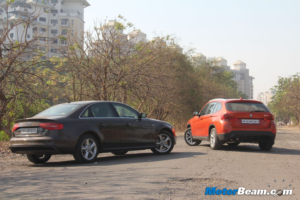 Audi Sedan vs BMW Crossover
