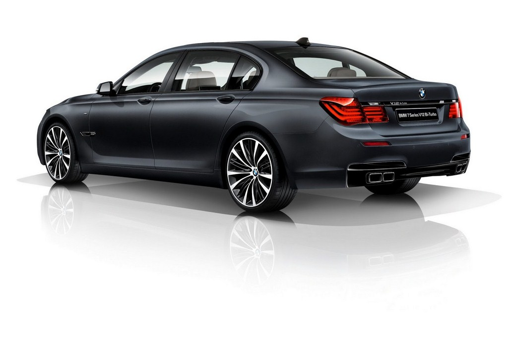 BMW 7 Series V12 Bi Turbo Edition Rear