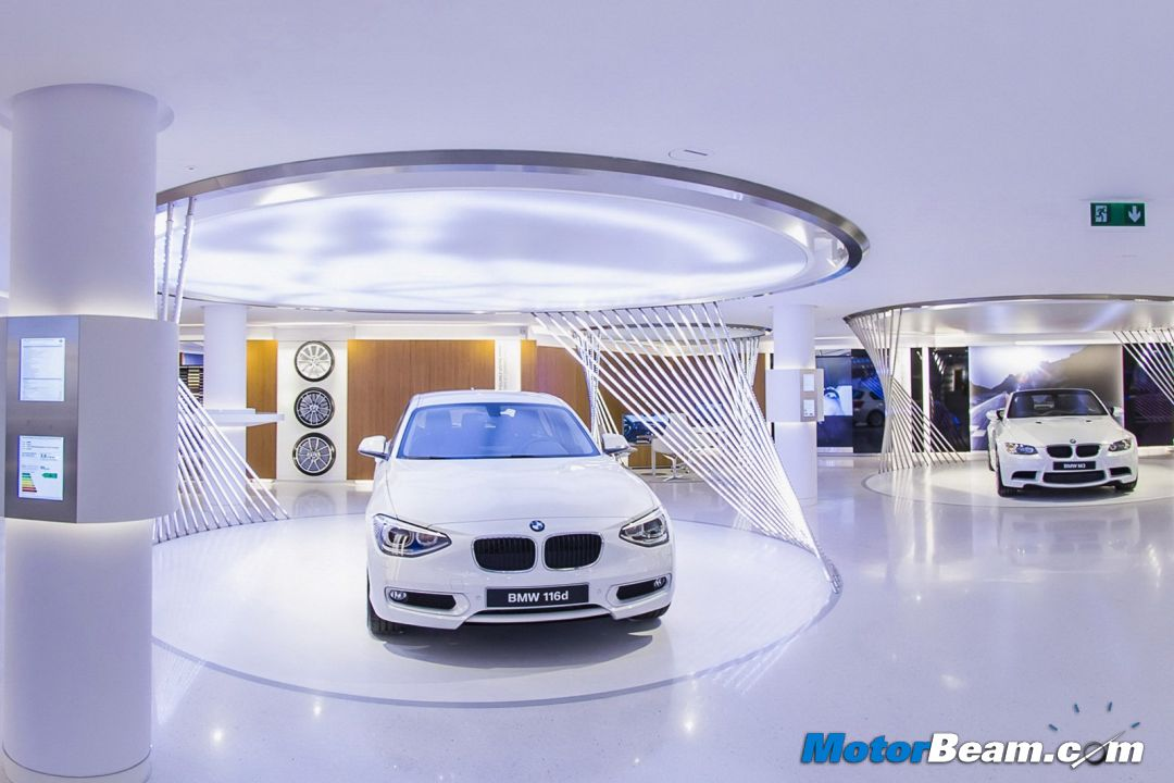 Bmw Car Showroom