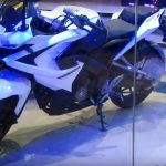 Bajaj Pulsar RS 200 White Colour