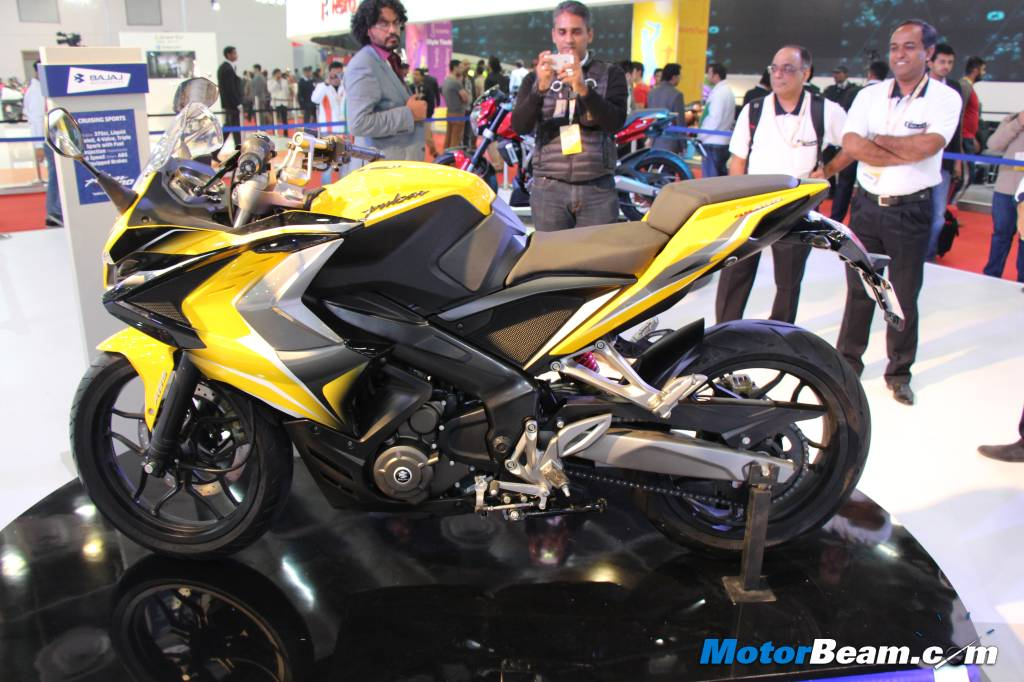 Bajaj Bikes Price List In India 2015 Bajaj Pulsar SS Side