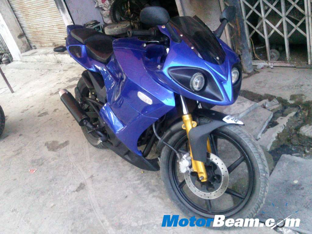 Bajaj Pulsar Turned Into A Superbike