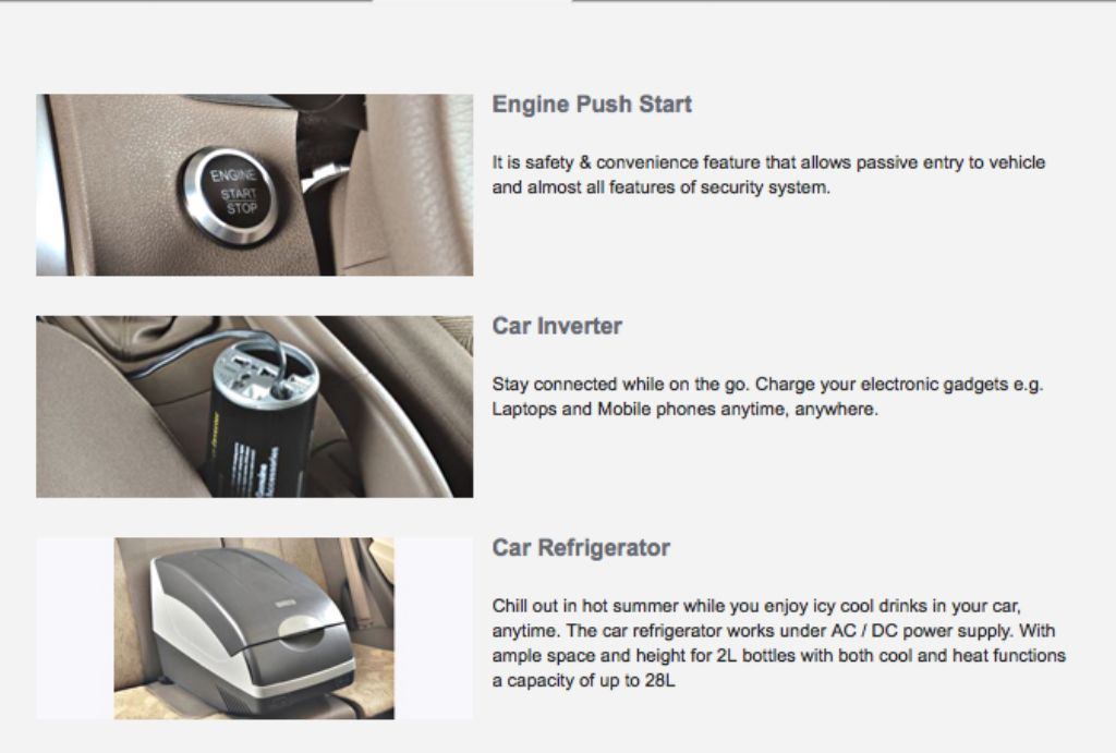 Chevrolet Sail U-VA Push Button Start