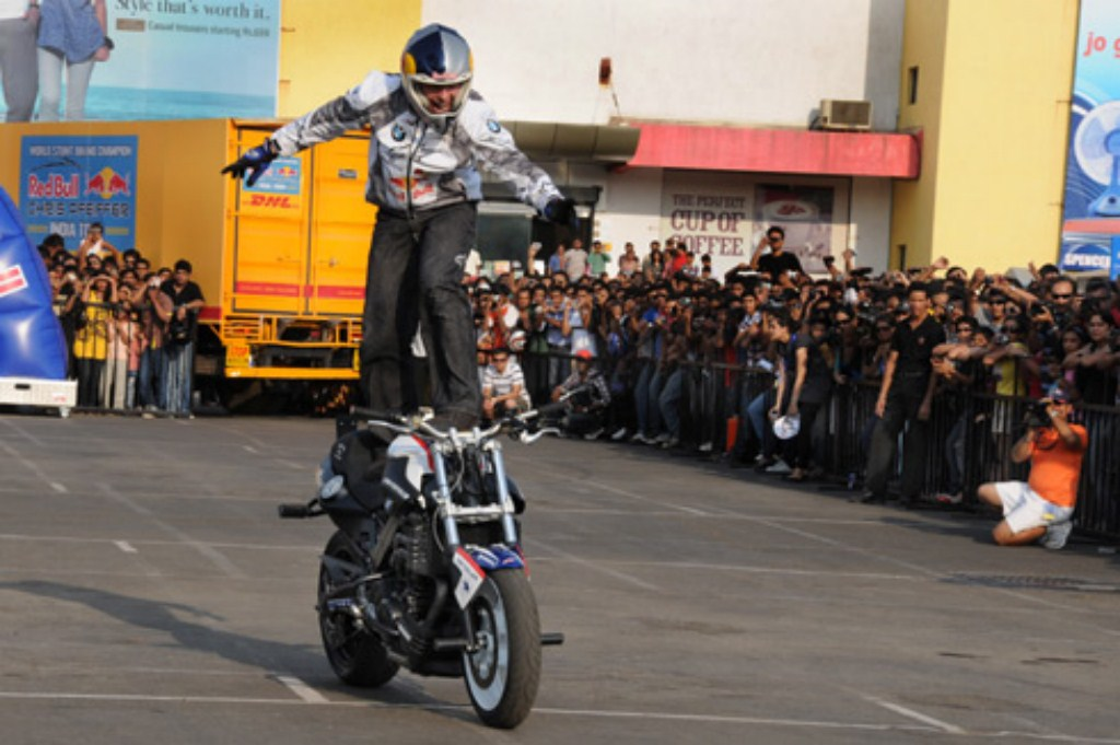 bike stunts photos. Chris execute stunt after