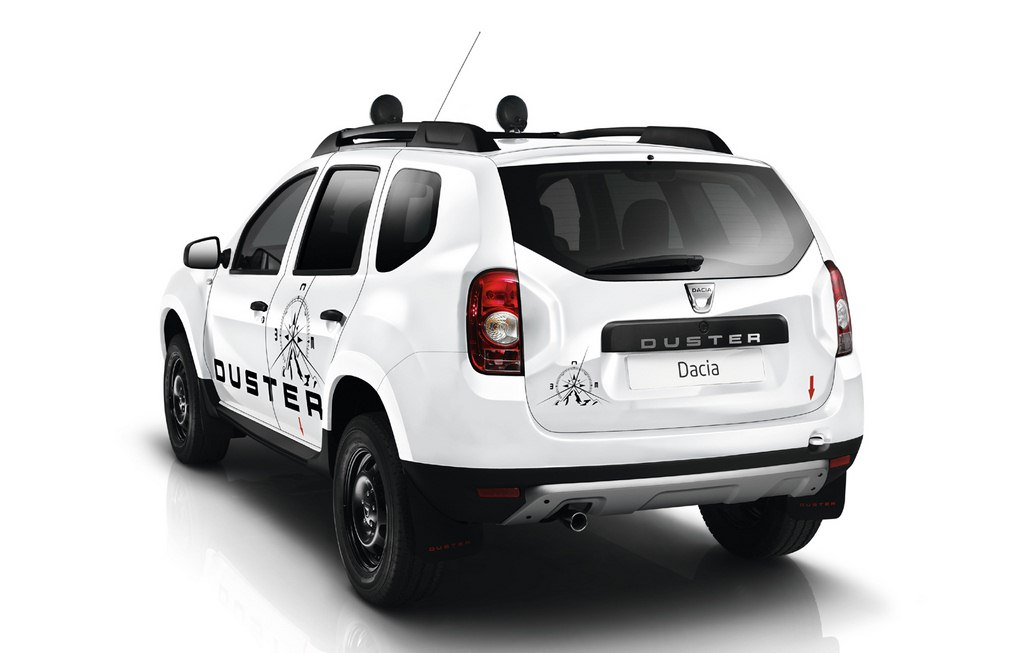 Dacia Duster Adventure rear
