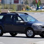 Dacia Duster Facelift Spied Side