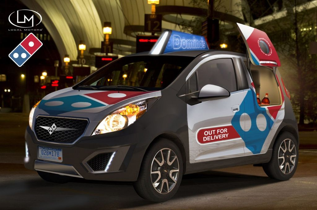 Domino S Launches Special Pizza Delivery Car Uk Today News
