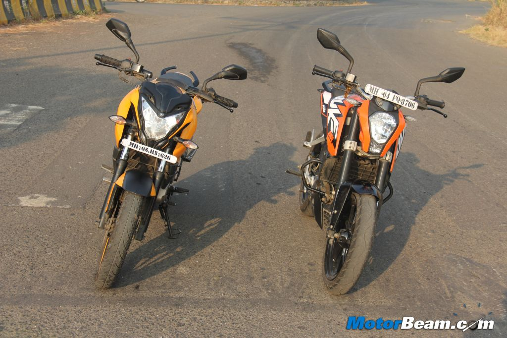 Duke 200 vs Pulsar 200 NS
