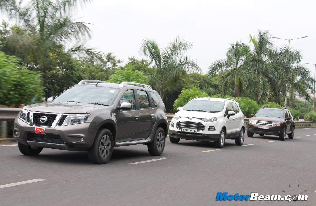 Duster vs EcoSport Terrano Comparison